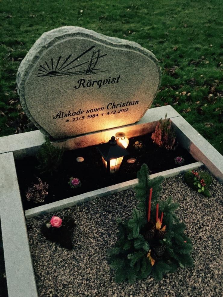 Andreas Rörqvist Konstnär, Född, 1986, Näset, Göteborg, Borderline, Drogmissbruk, Blogg, Personligt, andreasrorqvist.org, MAJORNA, Begravningsplats